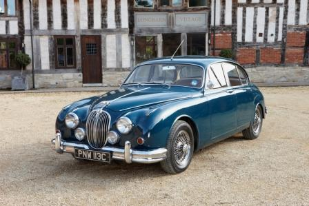 Great Escape Classic Car Hire 1965 Jaguar Mk2 3.8 Saloon For Self Drive  Rental In The ...