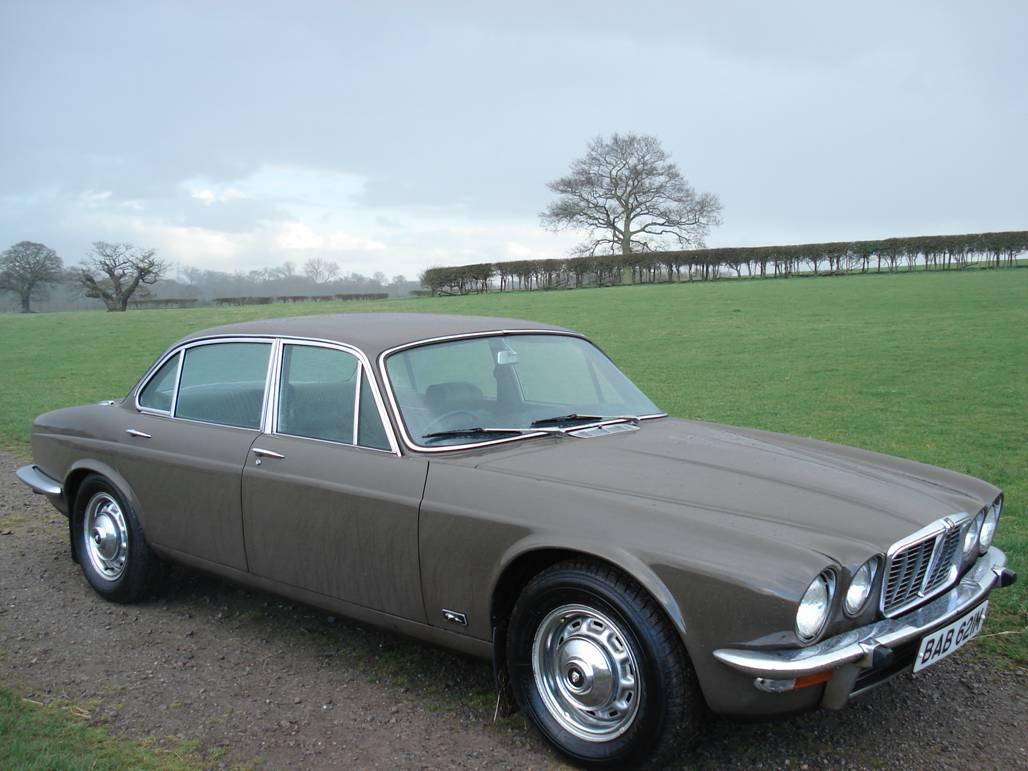 The Jaguar XJ6 was introduced
