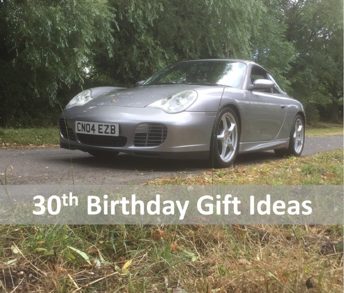 Great Escape Cars 30th birthday gift ideas and presents from £39