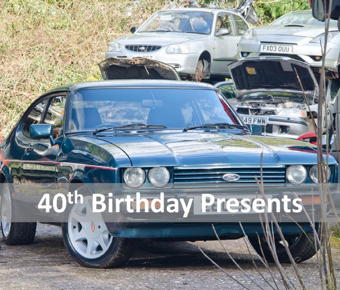 Great Escape Cars 40th Birthday Gift Ideas And Presents From 39