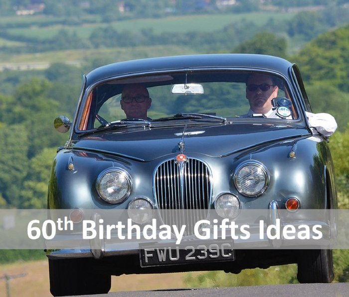 Great Escape Cars 60th birthday gift ideas and presents