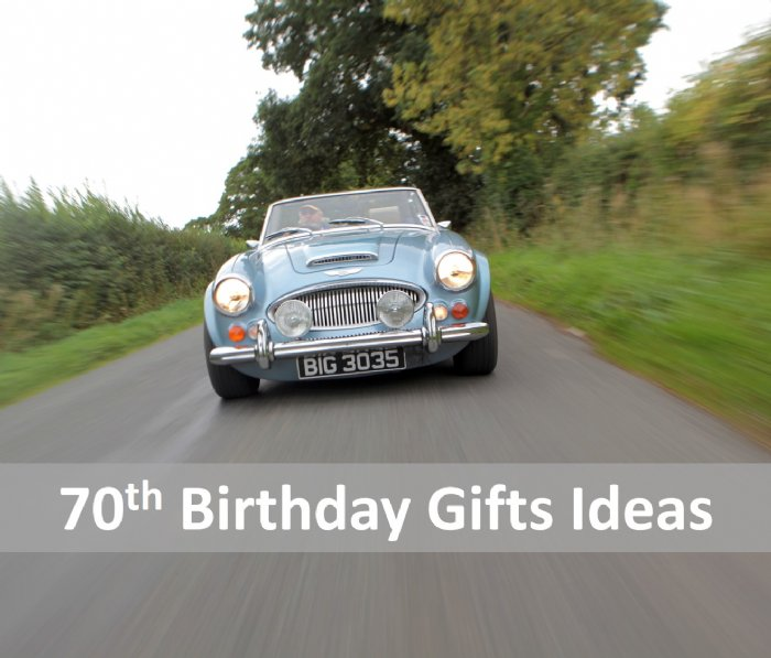 Great Escape Cars 70th birthday gift ideas and presents