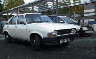 Great Escape Classic Car Hire Austin Allegro for self drive rental in the Cotswolds