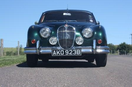 Great Escape Classic Car Hire Jaguar Mk2 3.4 for self drive rental in the Cotswolds