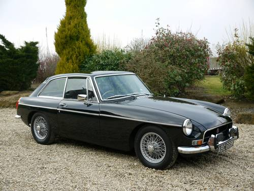 Hire a MGB GT in the Cotswolds