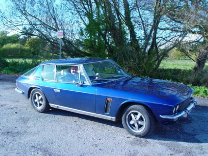 Great Escape Classic Car Hire Jensen Interceptor for self drive rental in the Cotswolds - Didn't_want_to_get_out