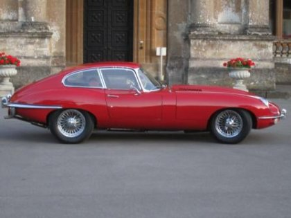 Great Escape Classic Car Hire Jaguar E Type 4.2 coupe road test and review