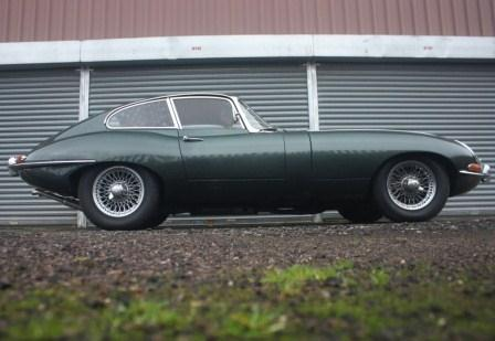 Great Escape Classic Car Hire Jaguar E Type Series 1 coupe for self drive rental in Yorkshire ideal for the Yorkshire Dales and Moors