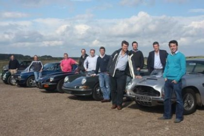 Great Escape Classic Car Hire Eversheds corporate event