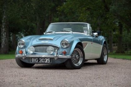 Classic Austin Healey Hire Great Escape Classic Cars Great