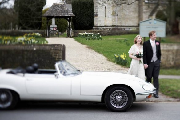 Great Escape Classic Car Hire self drive groom's and bridal cars for weddings across England