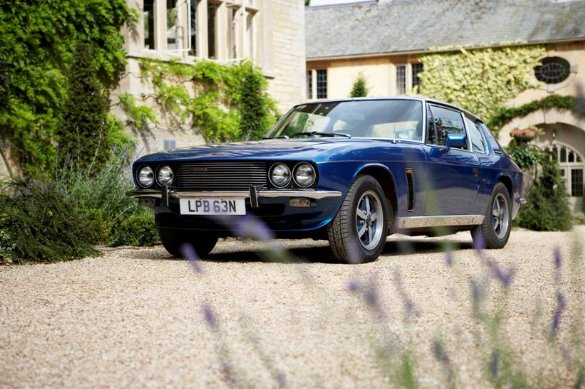 Great Escape Classic Car Hire coupes include the Jensen Interceptor Mk3