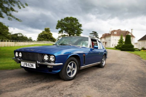 Great Escape Classic Car Hire Jensen Interceptor for self drive rental in the Cotswolds