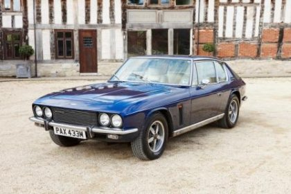 Great Escape Classic Car Hire 1974 Jensen Interceptor for self drive rental in the Cotswolds