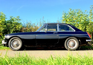 MGB GT restoration by Great Escape Cars