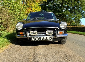 Drive a classic MGB GT for £39