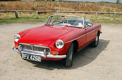 1964 MGB roadster restoration by Great Escape Cars