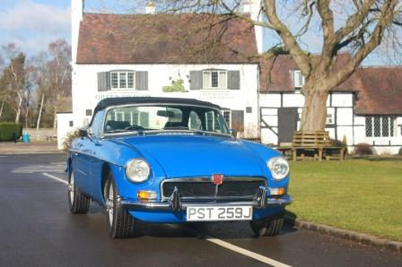 Great Escape Cars MGB restoration case studies