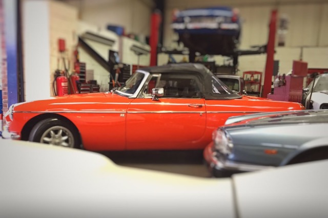 1979 MGB repairs servicing and restoration
