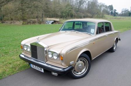 Hire a Rolls Royce Silver Shadow in the Cotswolds