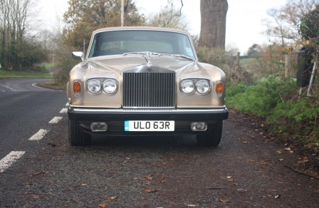 Great Escape Classic Car Hire Rolls Royce Silver Shadow for self drive rental in the Cotswolds
