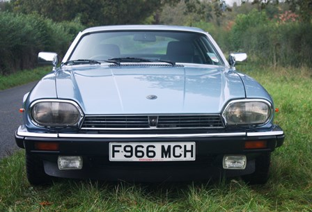 Great Escape Cars Jaguar XJS V12 coupe for self drive hire