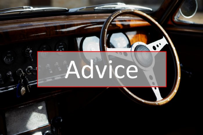 Useful advice on driving a classic car including films and guides