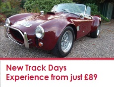 Great Escape Classic Car Hire new trackdays experiences