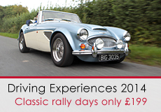 Classic Driving Days, Rallies and Experiences