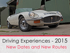 Great Escape Classic Car Hire 2015 rallies - 5 cars, 1 great day