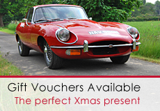 Classic Car Hire Gift Vouchers