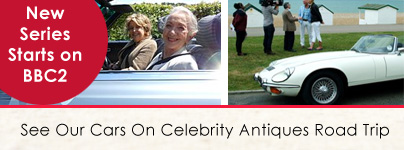 Celebrity Antiques Roadtrip Cars