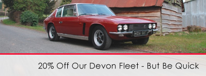 Classic Car Hire Devon & Cornwall