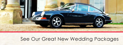Classic car hire for weddings | Wedding car hire | Self drive wedding cars