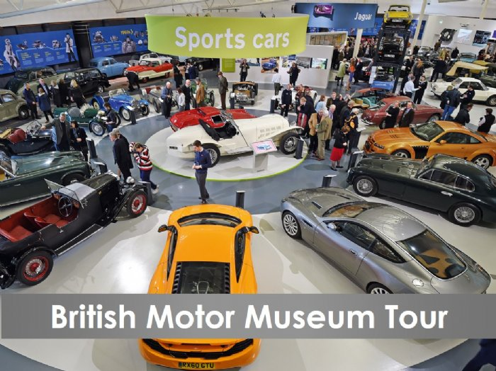 British Motor Museum tour and road trip
