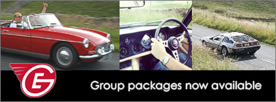 Great Escape Classic Car Hire now provides event packages for private groups for boys weekends and ladies weekends