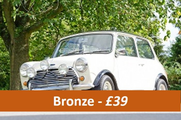 Classic Car Bronze Taster driving experiences for £39