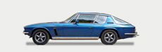 We have a choice of two 1974 Jensen Interceptor Mk3 coupes available for classic car hire