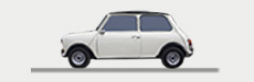 Mini Hire - Mini Cooper to hire in the Cotswolds - Great Escape Classic Car hire - Mini available for hire