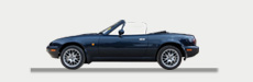 Mazda classic cars available for hire