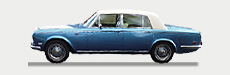Rolls Royce Silver Shadow for self drive hire and wedding car hire
