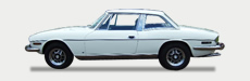 Great Escape Classic Car Hire classic Triumph Stag for self drive rental in the Cotswolds
