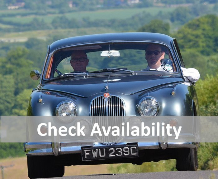 real time online availability check for the Great Escape Cars classic car hire fleet