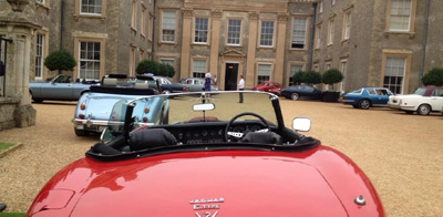 Classic car team building corporate events