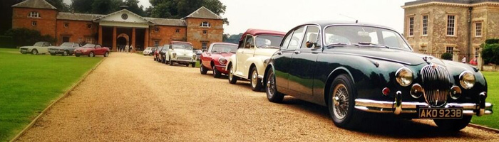 Great Escape Cars corporate event case studies with classic cars