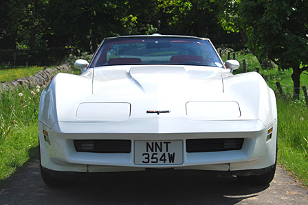 Great Escape Classic Car Hire Corvette C3 coupe for self drive rental in the Cotswolds
