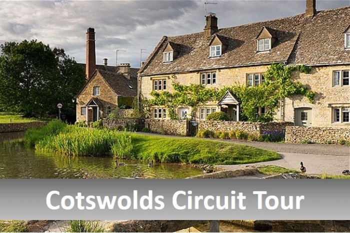 Cotswolds Circuit classic car tour - half day