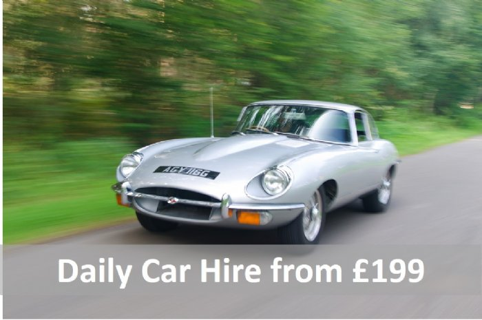 Classic car Hire driving experiences from Great Escape Cars