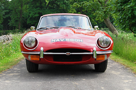 Jaguar E Type coupe restoration case study