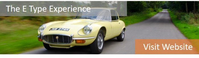 Drive an E Type from £99 with our E Type Experiences
